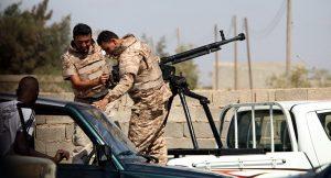 Un avion militaire du gouvernement de Tripoli abattu par l 'armée de Haftar