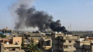 Guerre civile et militaire en Libye