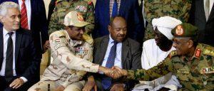 Au Soudan, militaires et opposants signent un accord historique