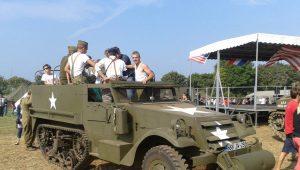 Un camp  militaire US de 1944 reconstitué ce week end en Bretagne