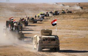 L'opération « Volonté de vaincre »  pour sécuriser le désert irakien