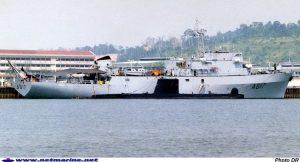 La Garonne est le 4ème et dernier BSAM  livré à la Marine nationale