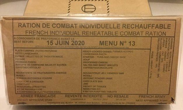 Pourquoi la ration militaire française est la meilleure du monde ?