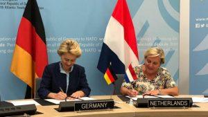 Réseau militaire numérique commun entre l'Allemagne et les Pays-Bas